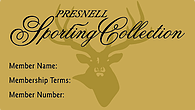 Presnell Sporting Collection: Gold Membership
