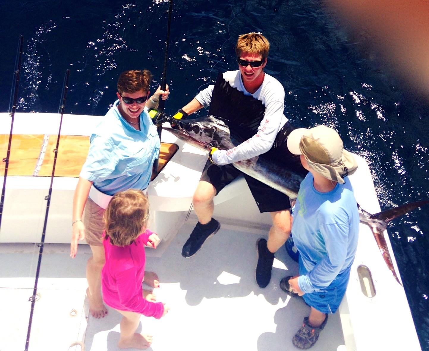 Wet N Wild Sport Fishing: 1/2 day charter