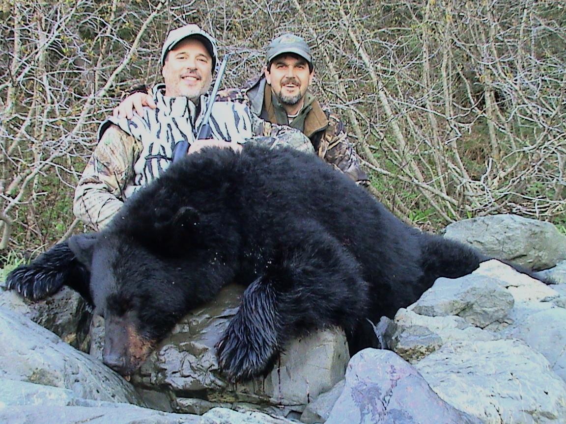 Barela's Alaskan Outfitters: Black Bear Hunt