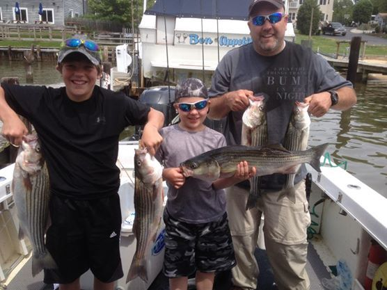 Down Time Sportfishing Charters: Half Day Trip