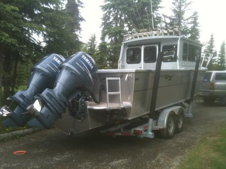 Wildrose Charters And Cabins: Fly-out Fishing Salmon Trip