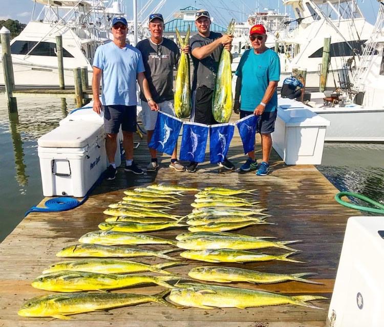 Rhonda's Osprey Charter Fishing: Ocean City,  MD Full Day Tuna Marlin