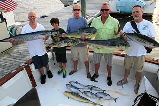 Yeah Right Charters: 1/2 DAY NEARSHORE FISHING