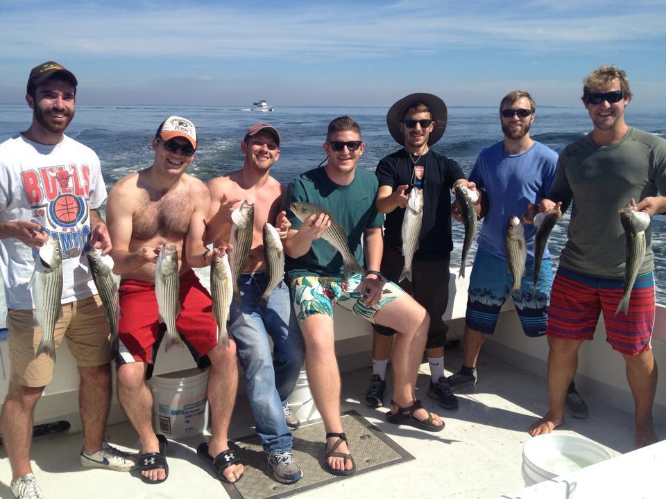 Captain Pete's Fishing Charters: Spot/Perch Charter