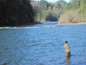 Hawkeyes Guide Service: Walk & Wade Sandy River Trip