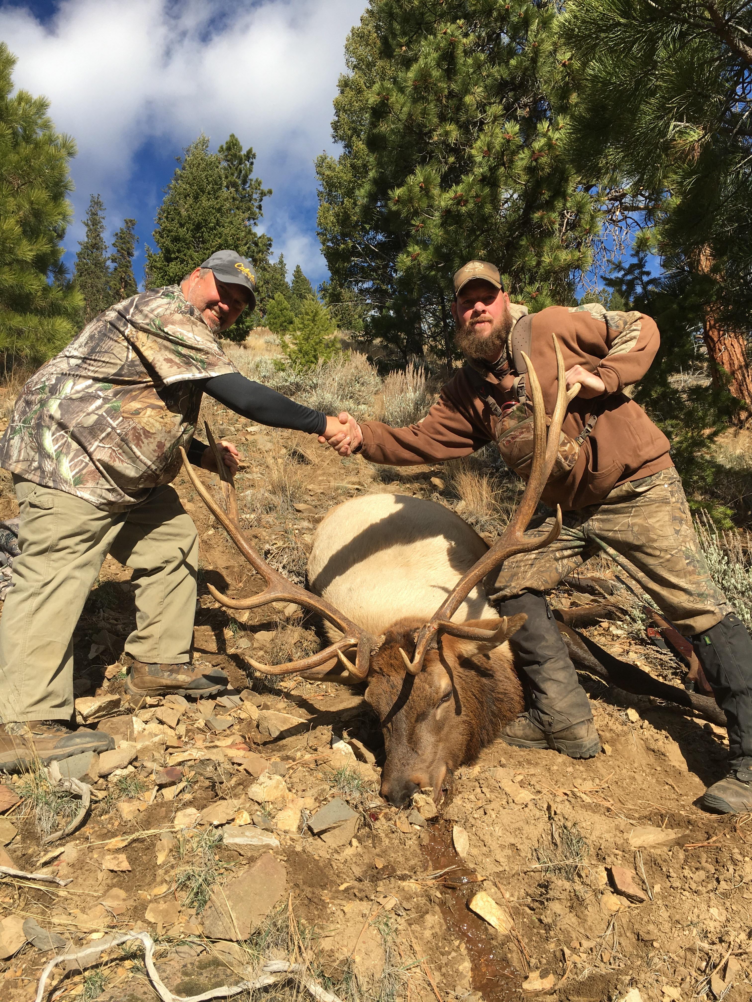 Pistol Creek Outfitters: Elk, Mule Deer, Bear, Wolf Combo Hunt