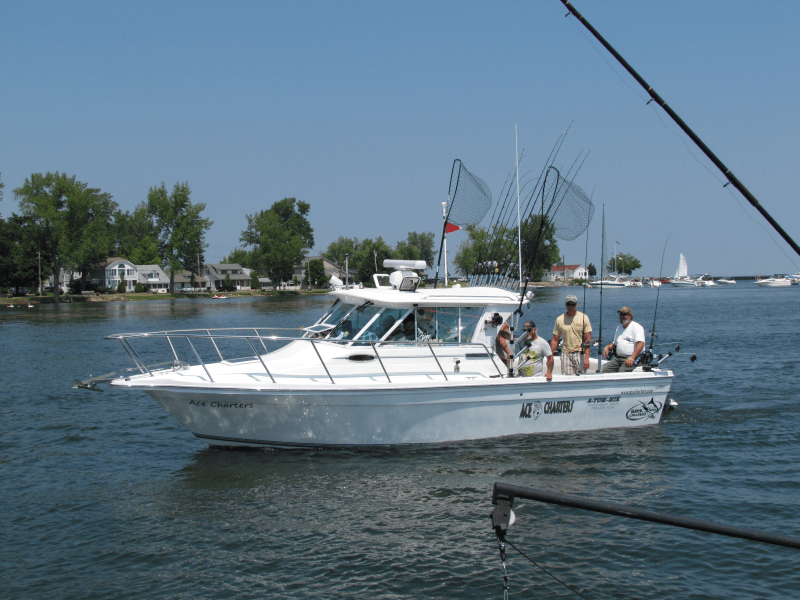 Ace Charters - Lake Ontario Fishing Charters: 3/4 Day Charter