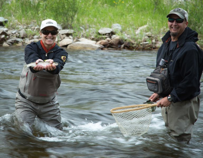 Tightloop Outfitters: Full Day Float/Wade Trips