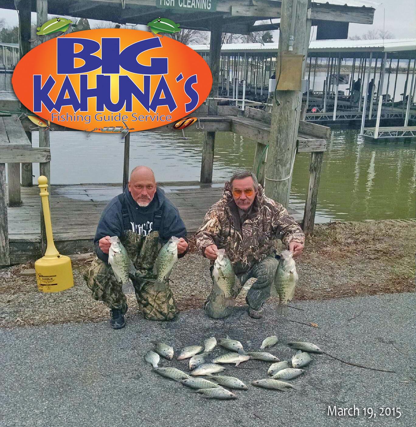 Moors Resort & Marina: Big Kahuna Guided Fishing Trip