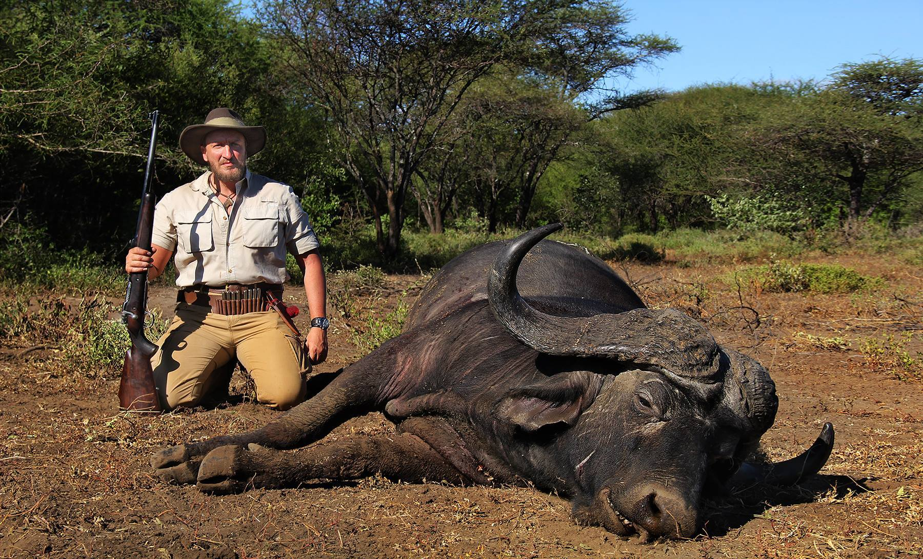 Big Game Hunting Adventures: South Africa Cape Buffalo Hunt