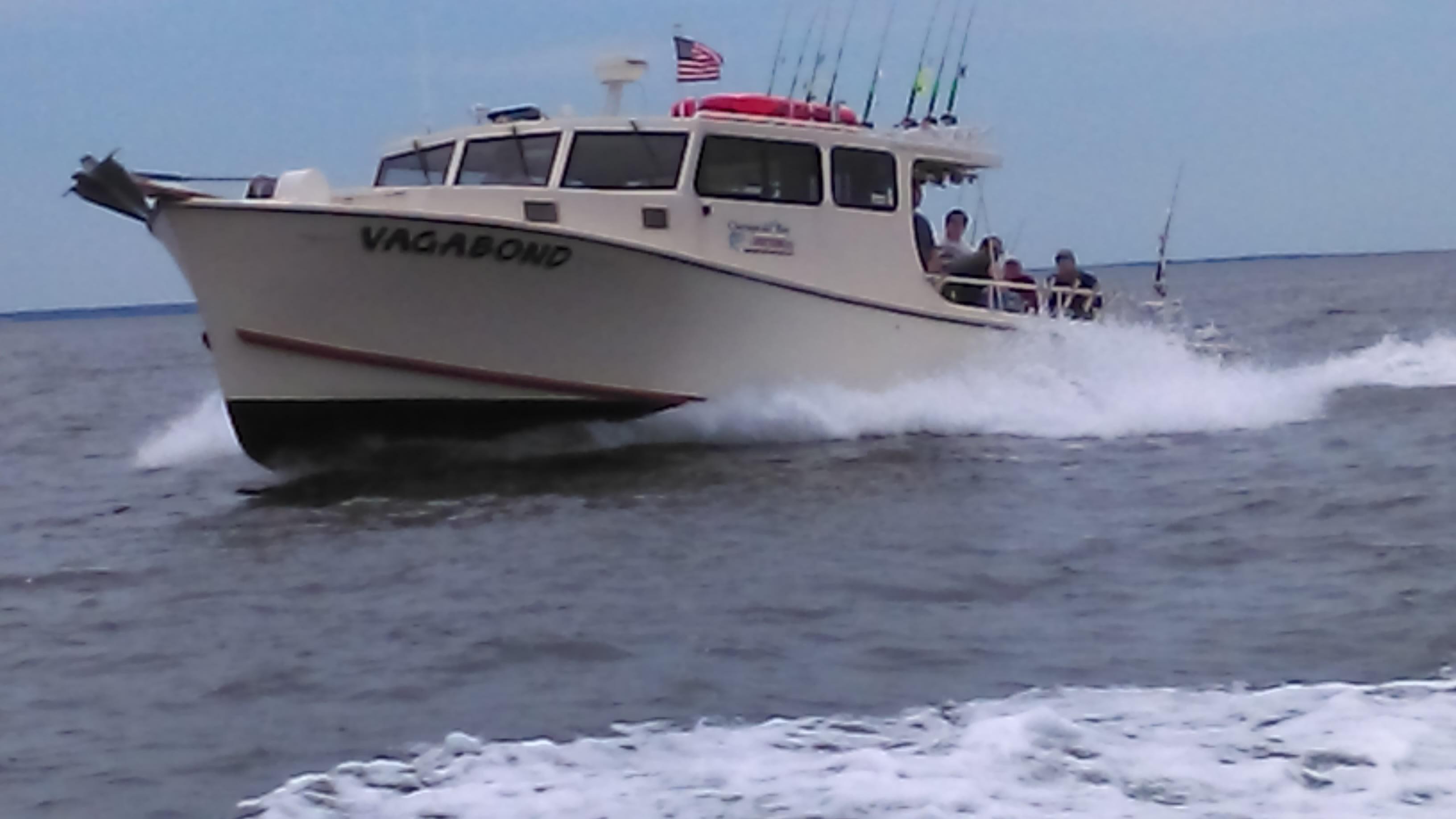 Chesapeake Bay Sport Fishing Charters: Vagabond