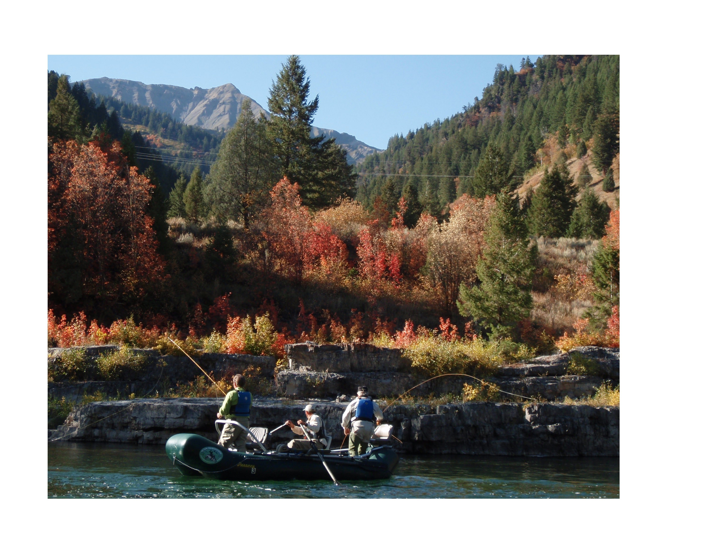 Teton Troutfitters: Green & New Fork River Trips