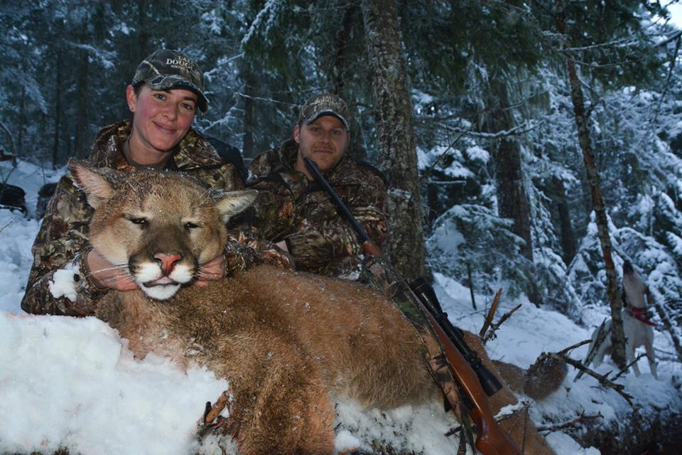 Rasmussen Outfitters: Mountain Lion Hunt -Dec