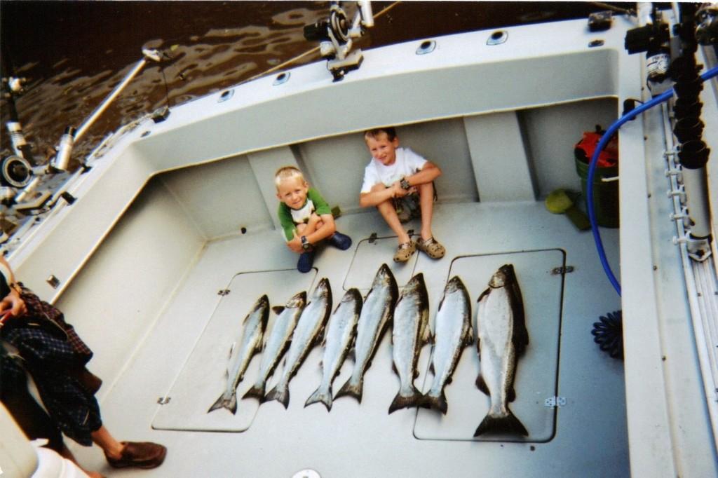 It Il Do Fishing Charters: Salmon/Perch Charter #3
