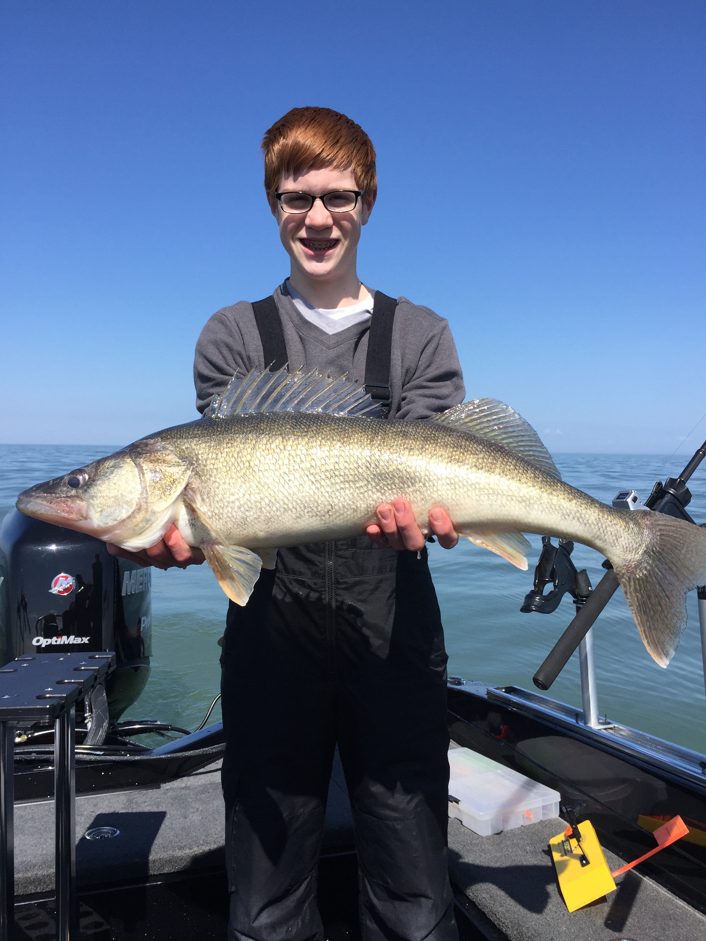 Captain Kevins Lake Erie Charters: Walleye Charters