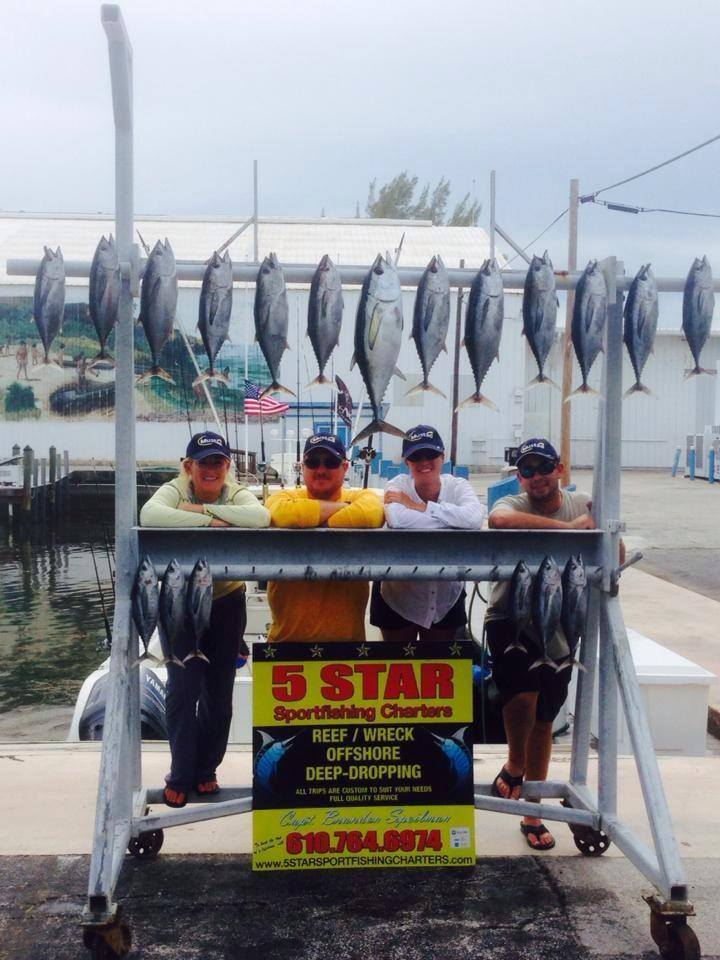 5 Star Sportfishing Charters: Tarpon/Shark  1/2 Day