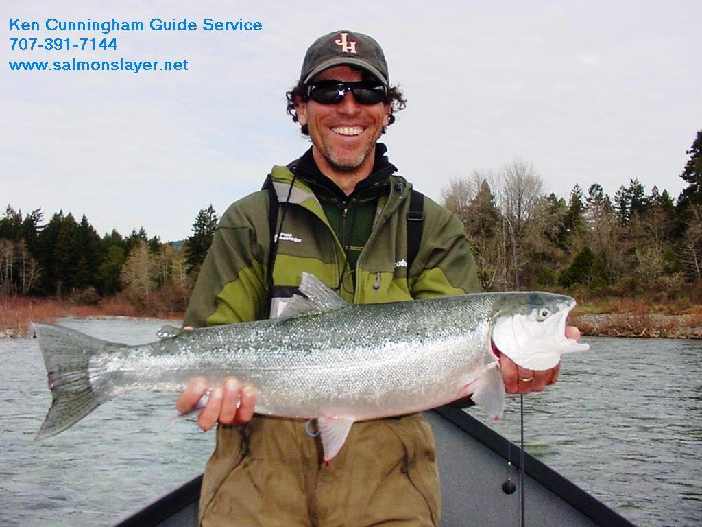 Ken Cunningham Guide Service: Drift Boat - Salmon & Steel head