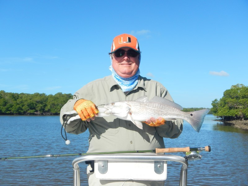 Redfish Landing Guide Service: HALF DAY FLY FISHING
