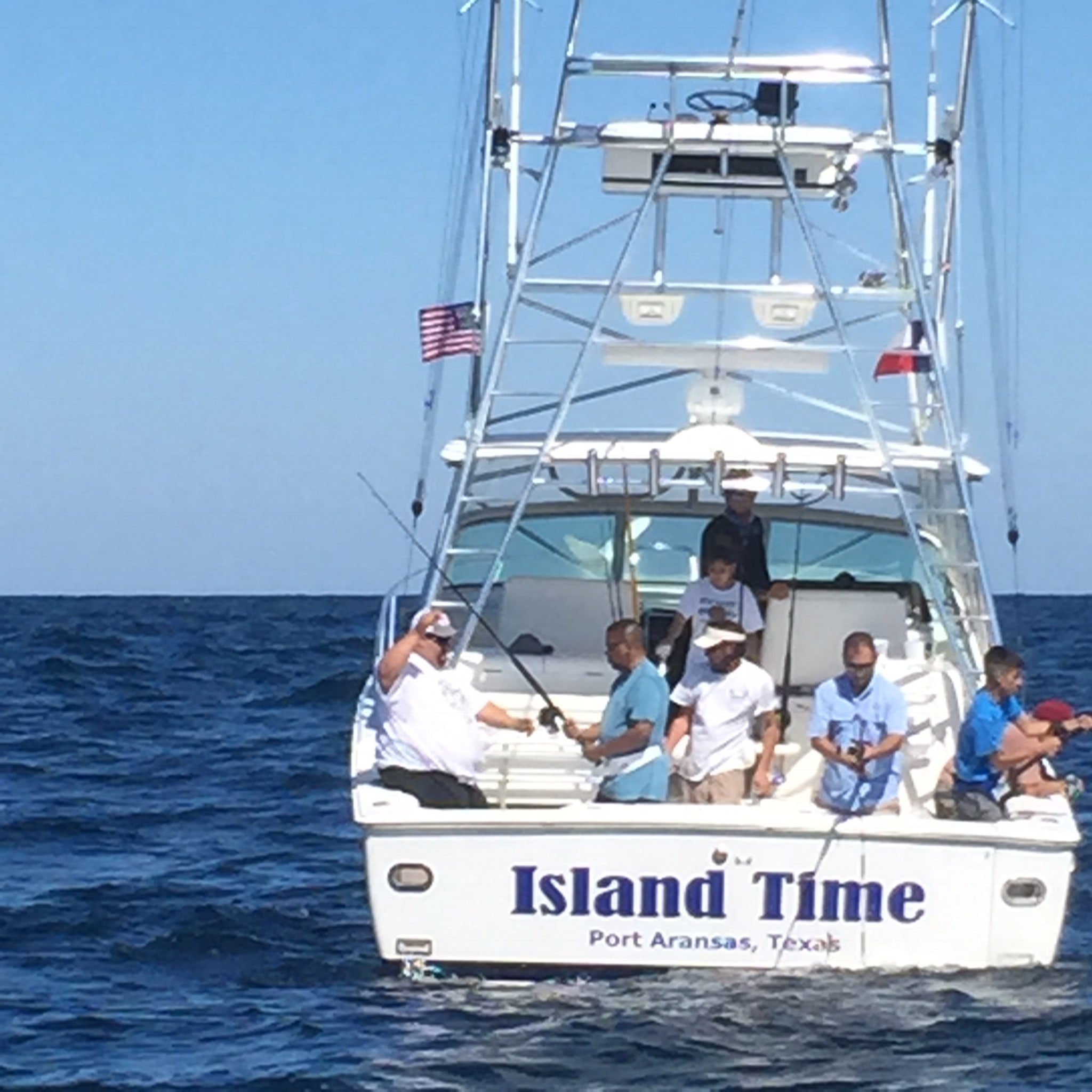 Island Time Offshore Charters: Eight Hour Offshore Fishing Trip