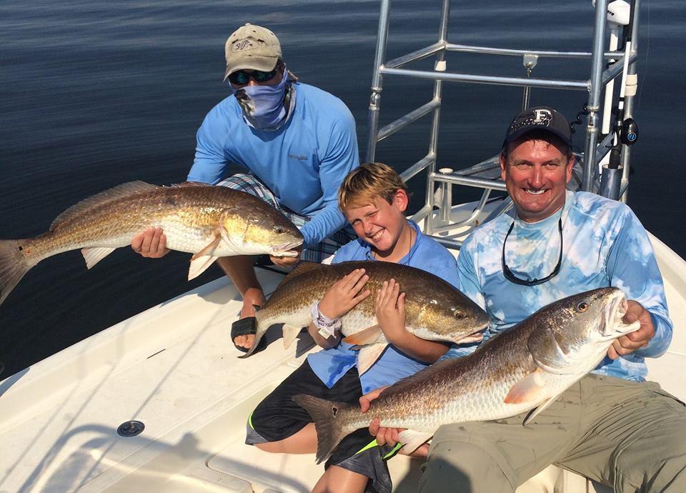 Cajun Fishing Adventures: INCLUSIVE FISHING - 3 people to a boat