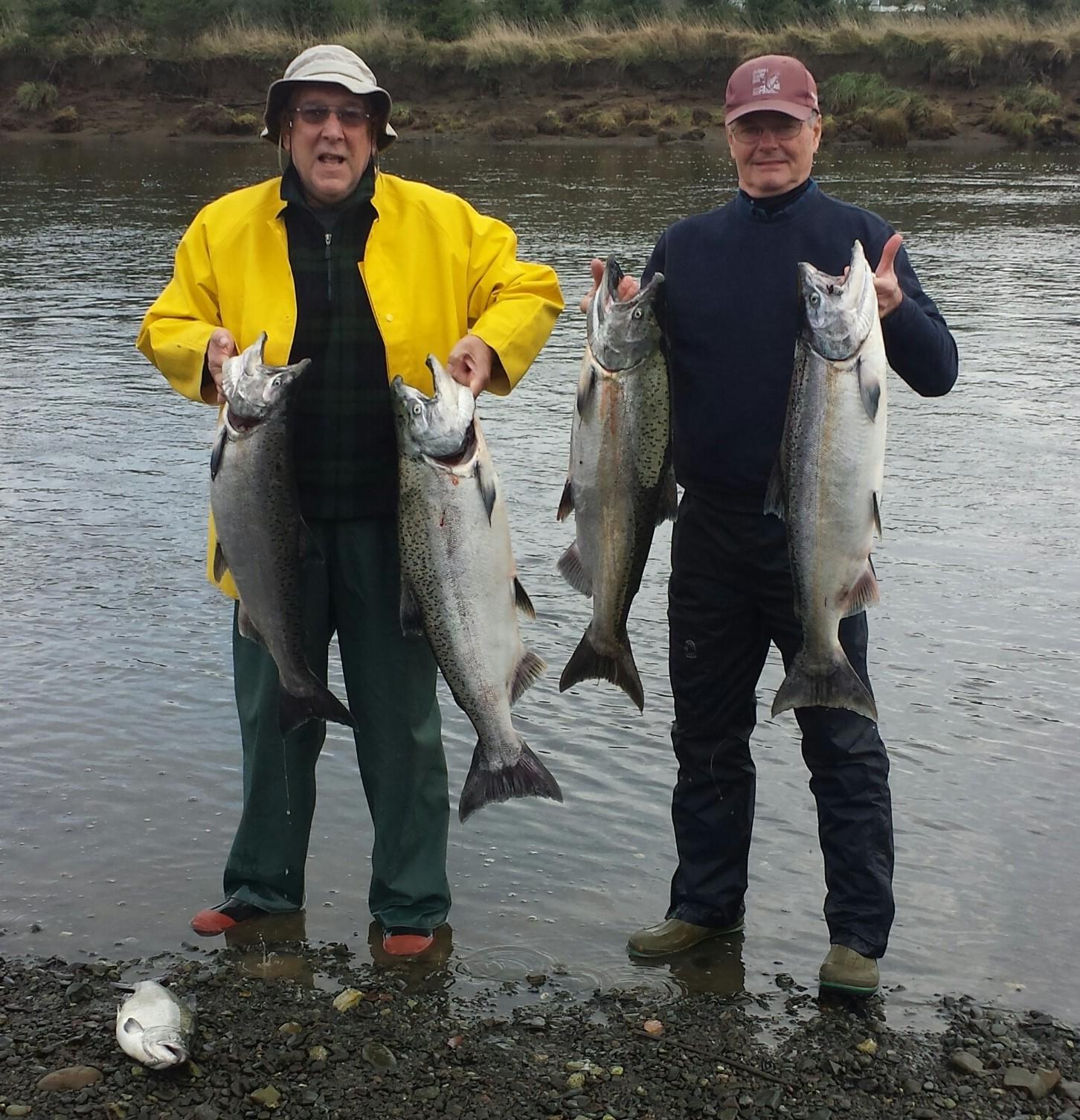 Harold Hanson Fishing: SALMON-STEELHEAD COMBINATION