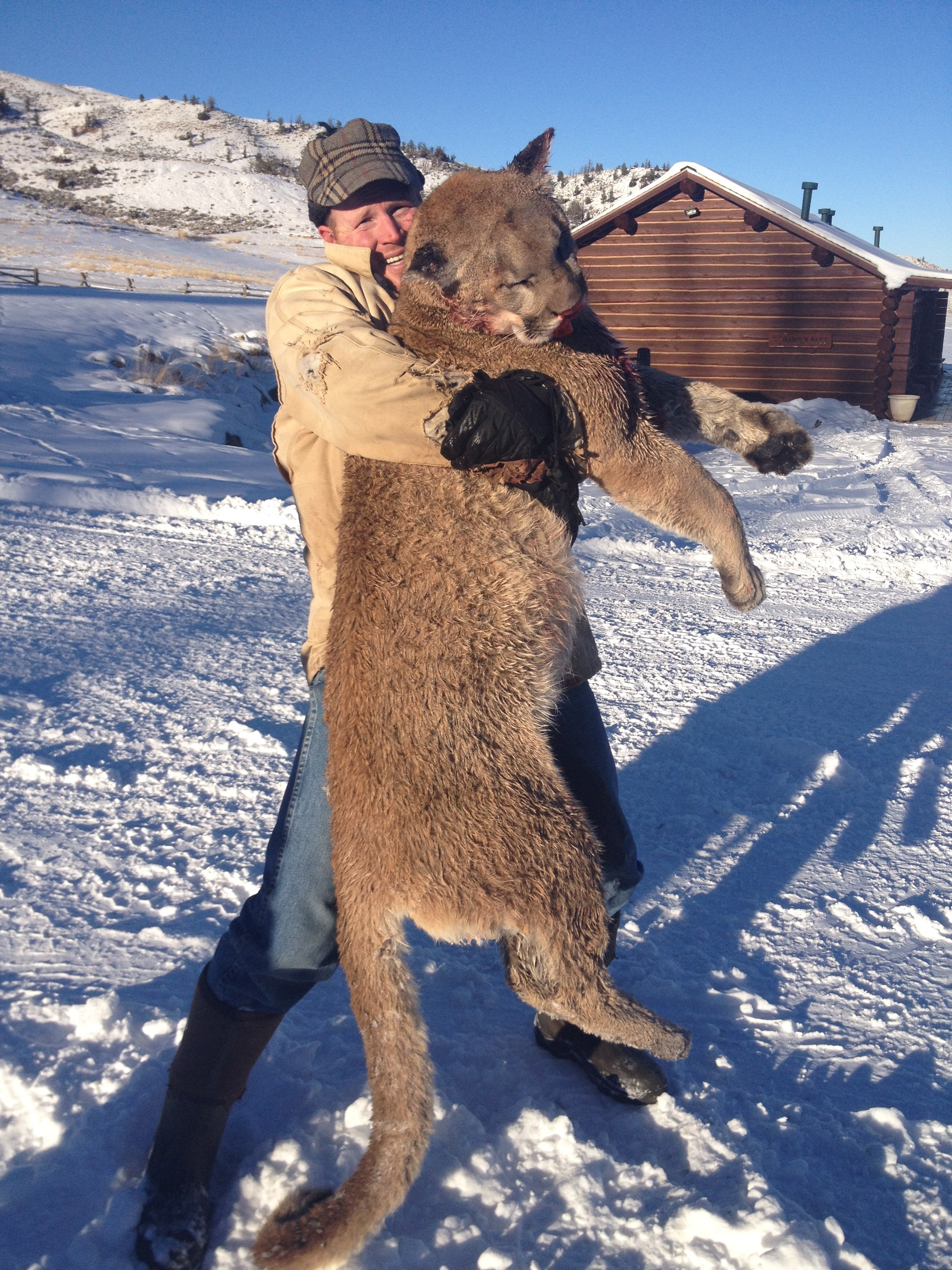 Wood River Ranch: Mountain Lion Hunt