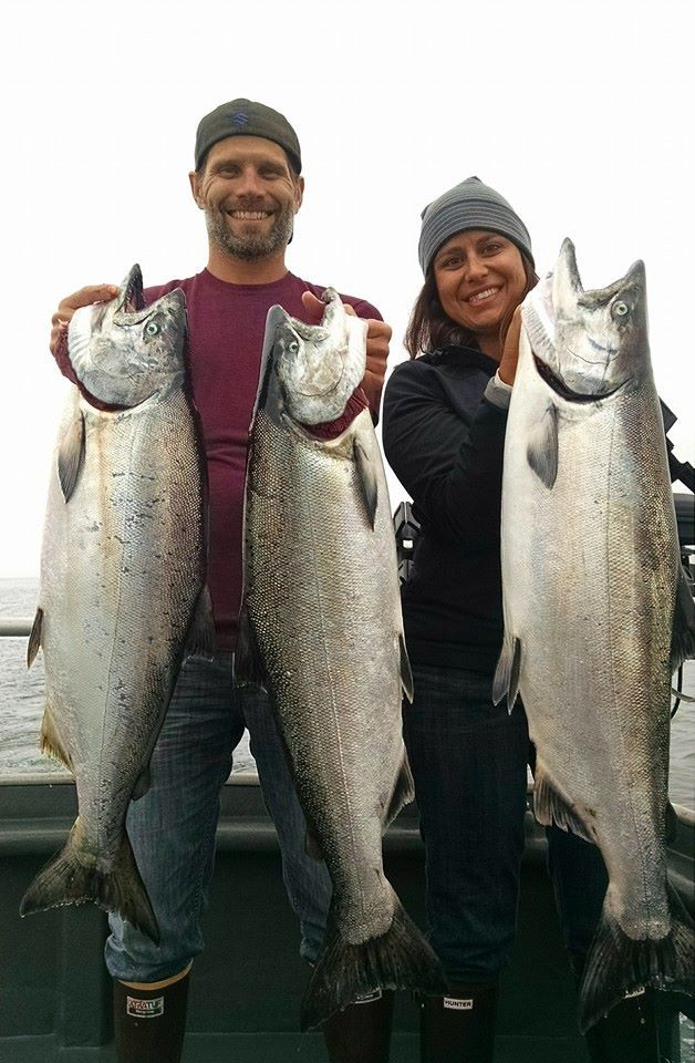 Jambo's Sportfishing: Salmon/Bottomfish Combo