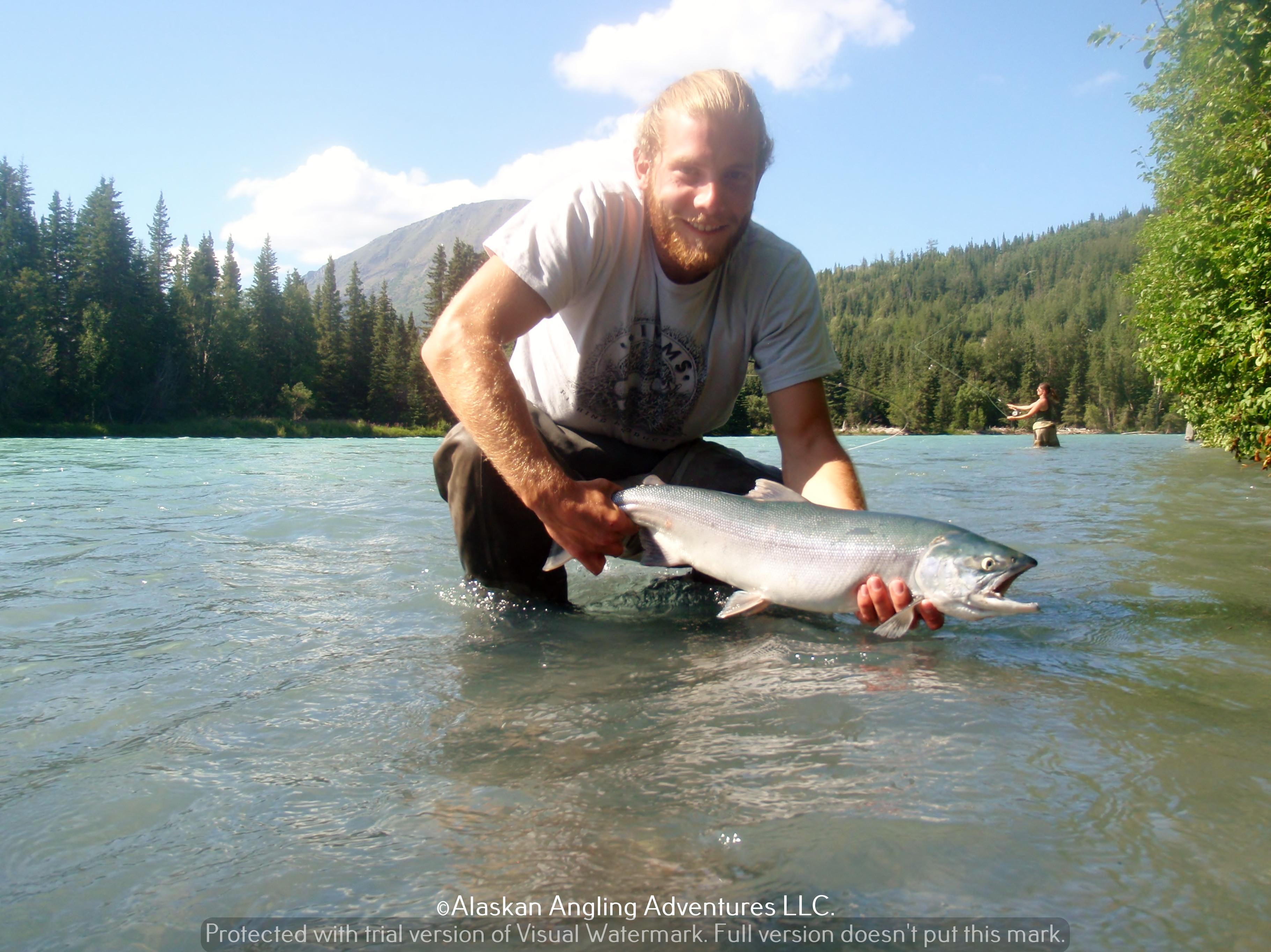 Alaskan Angling Adventures Llc.: Full Day Upper Kenai RiverFishing Trip