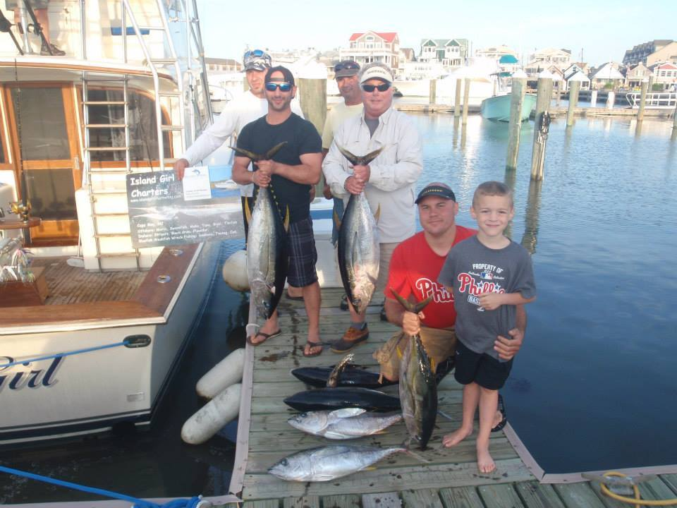 Island Girl Charters: Offshore Fishing Trip