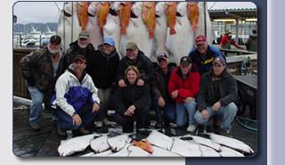 Aurora Charters: Full Day Salmon/Halibut