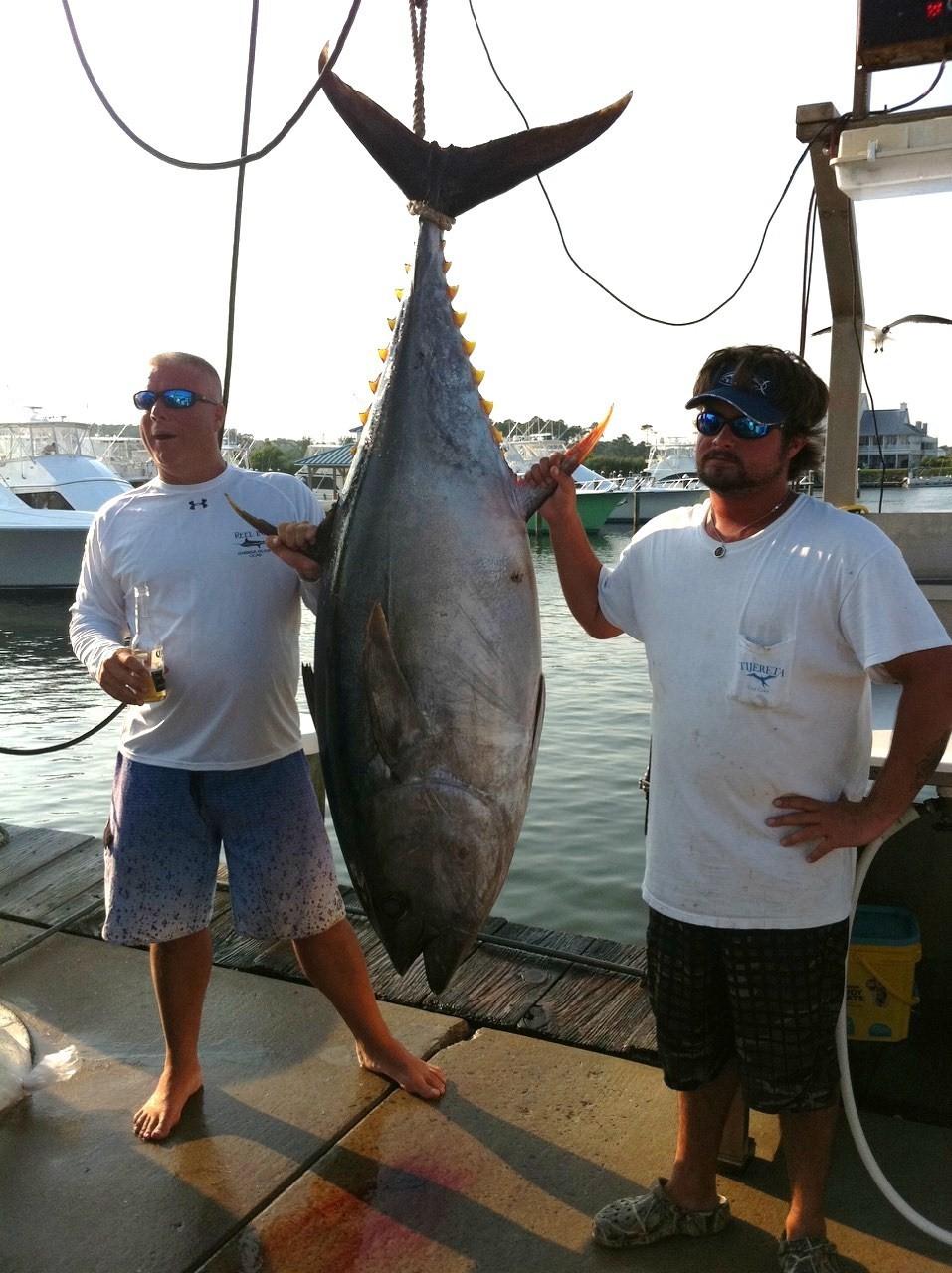 No Quarter Sportfishing: Ocean City,  MD Big Eye