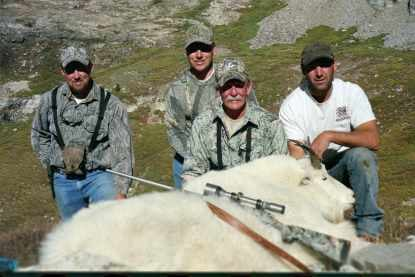 Secret Pass Outfitters: Rocky Mountain Goat Hunts