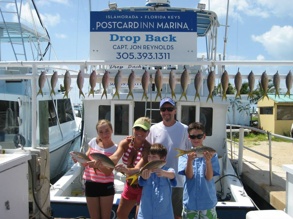 Drop Back Charters: 3/4 Day Fishing Trip