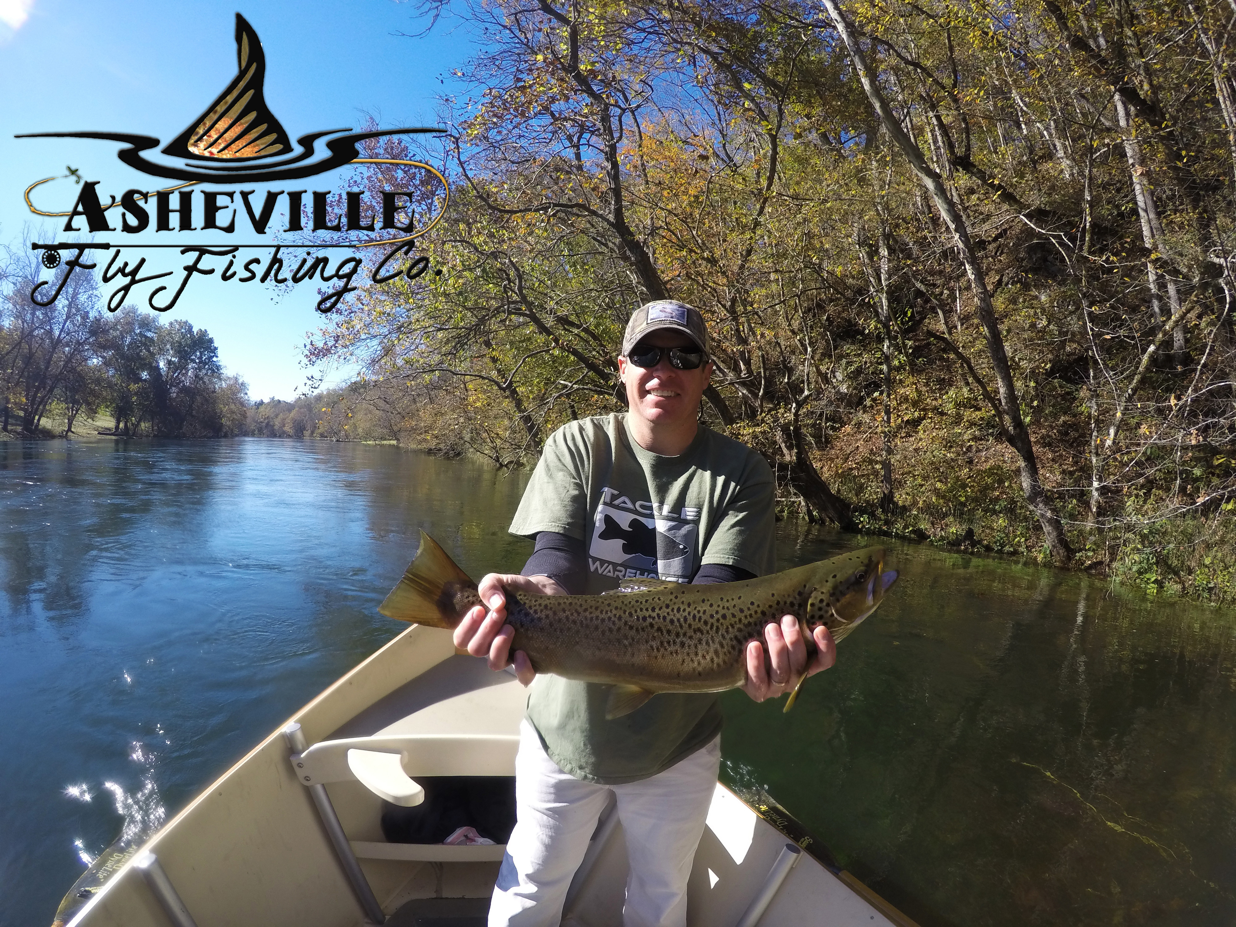 Asheville Fly Fishing Company: Half Day Float Trout