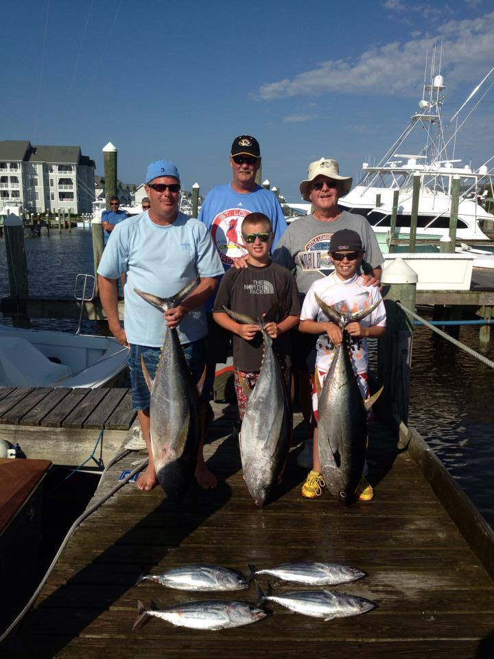 Sandra D Sport Fishing Charters: Winter Bluefin Trip