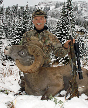 Absaroka Beartooth Outfitters: BIGHORN SHEEP HUNT