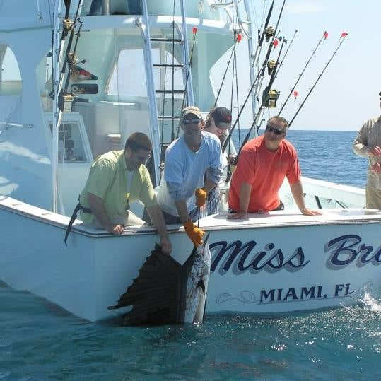 Miss Britt Charters: Fly Zone Approved Sailfish & Tarpon Combo Charter