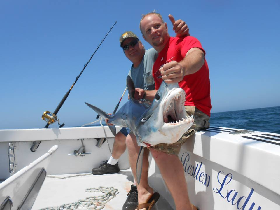 Restless Lady Charters: Inshore/Offshore Plus Trip