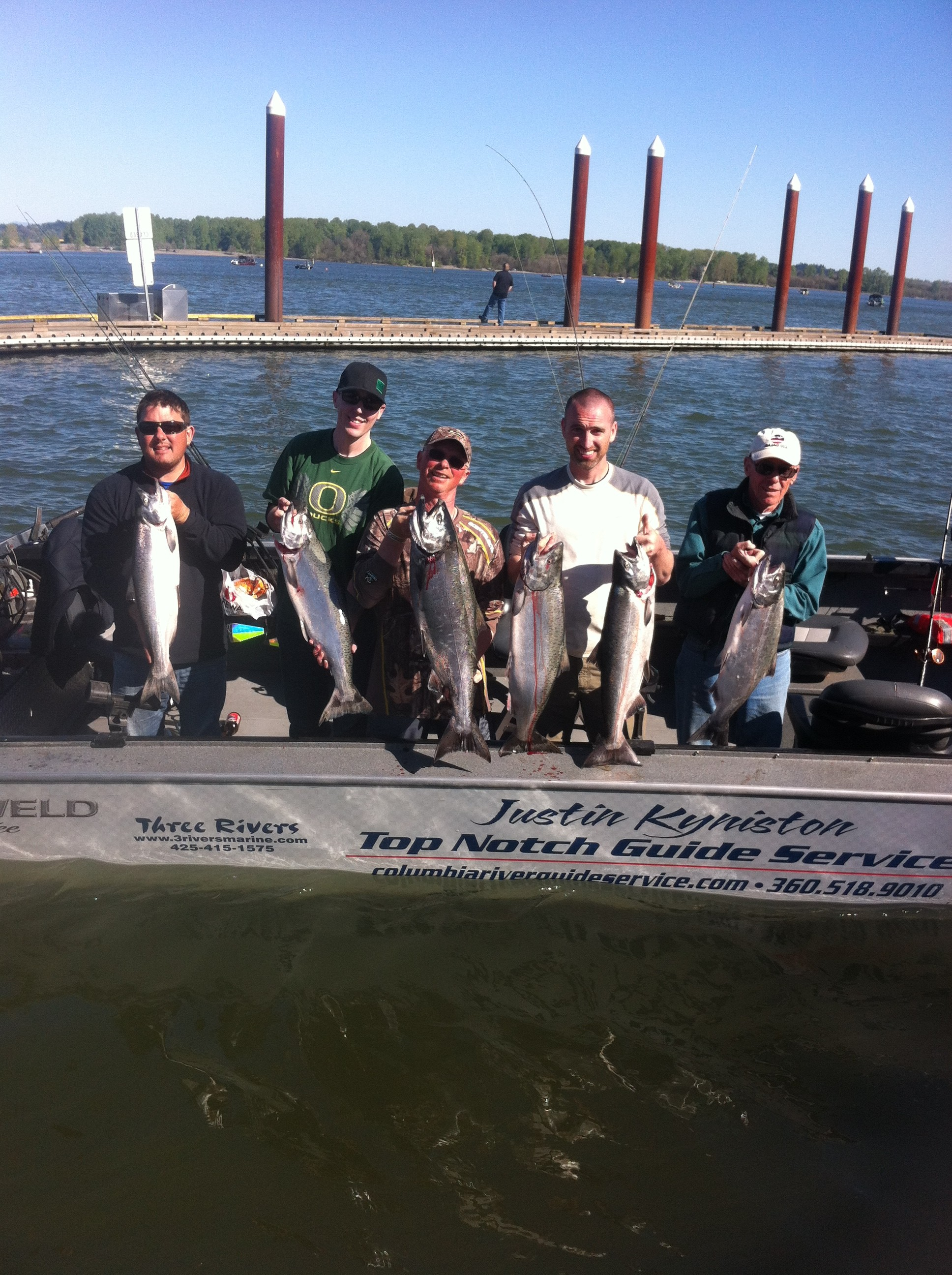 Top Notch Guide Service: Guided fishing trip