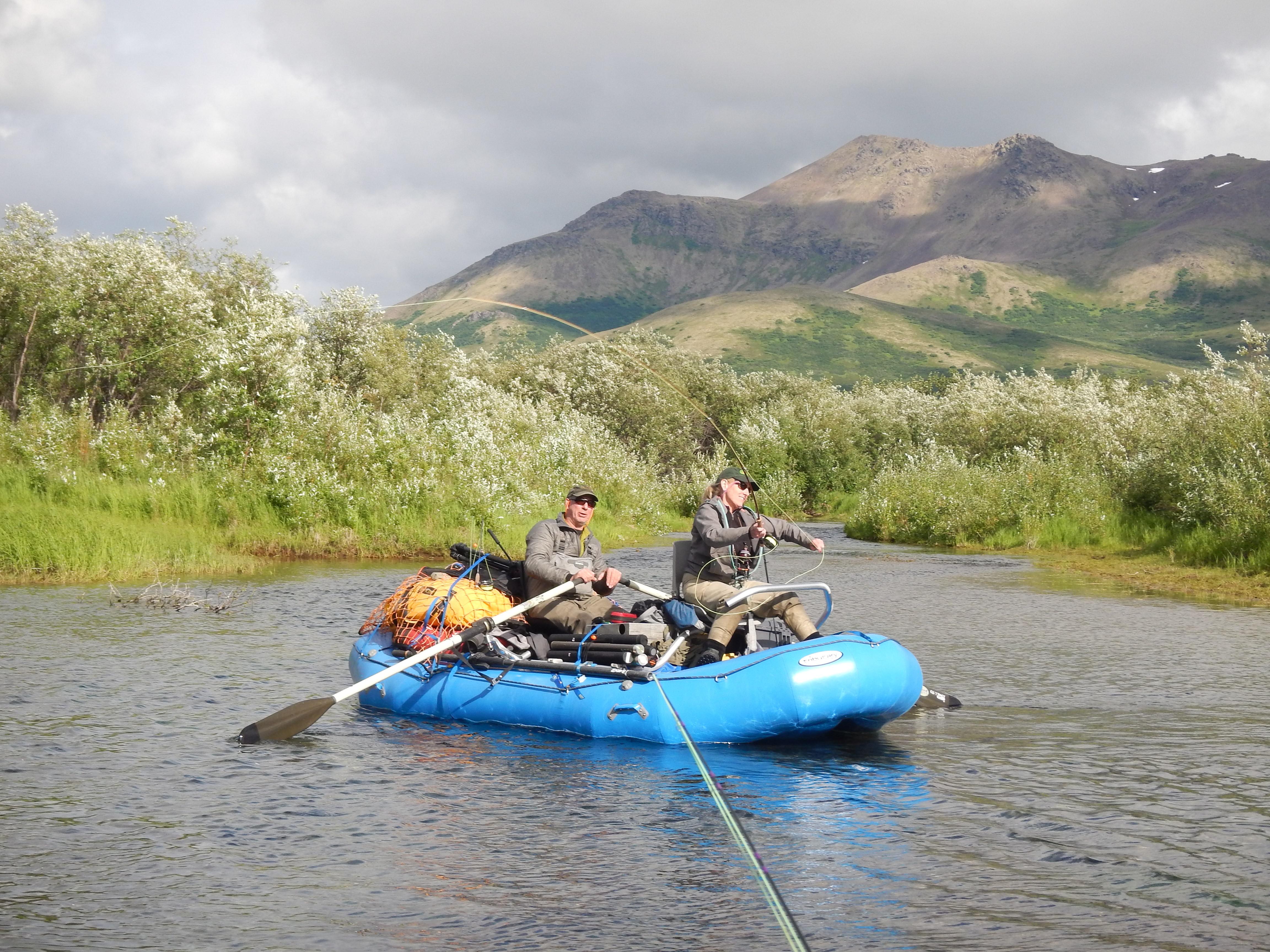 Alaska Rainbow Adventures: Kanektok River High Summer Fishing Frenzy.