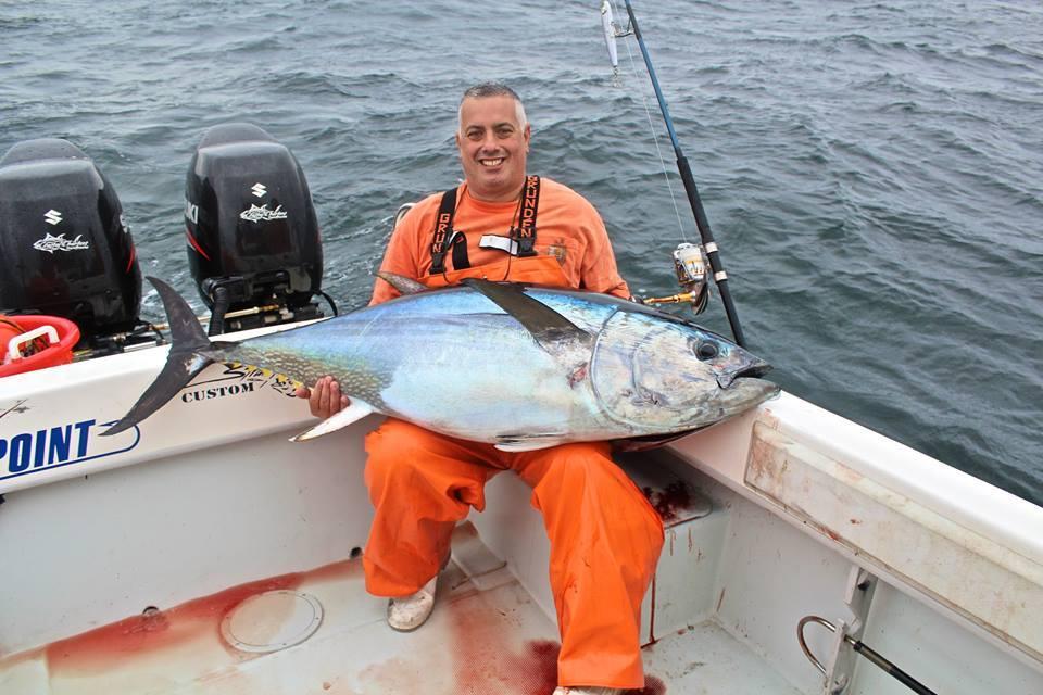 Coastal Charters Sportfishing: Shared light tackle bluefin tuna