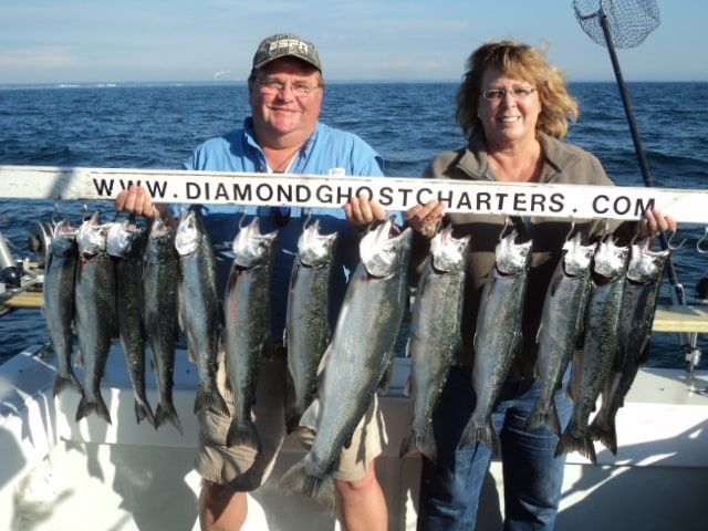Diamond Ghost Charters: 2 Person Weekday Monday  Thursday