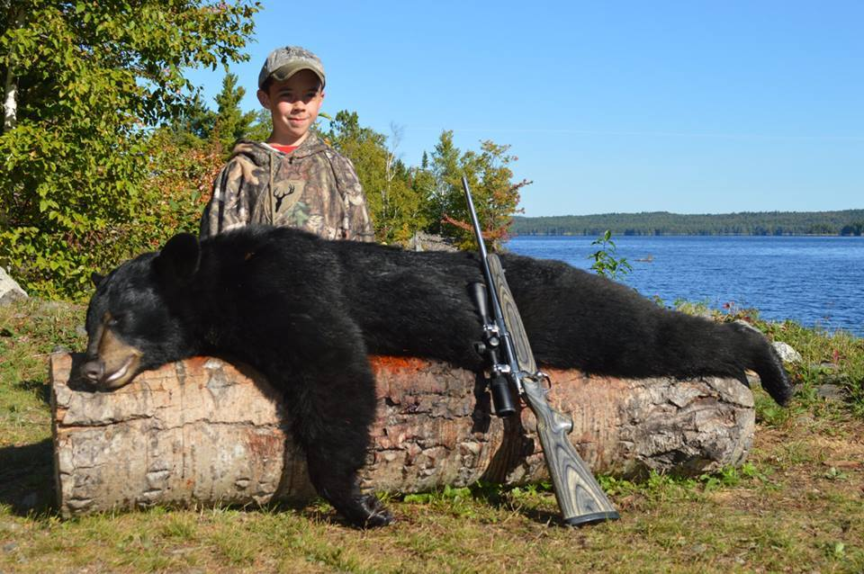 Matagamon Wilderness Camps: Bear Trapping