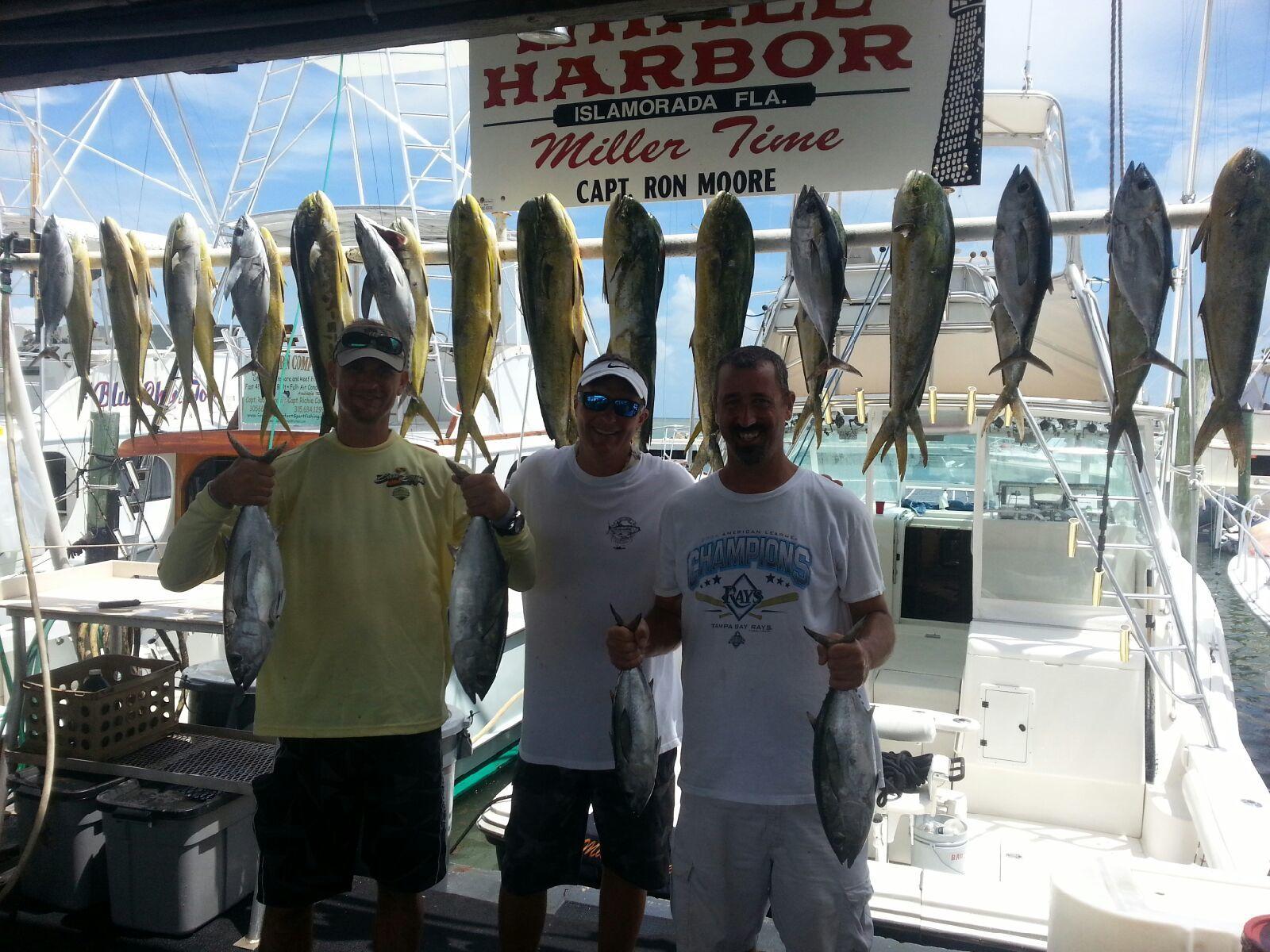 Miller Time Sportfishing: Example 1/2 Day Fishing Trip