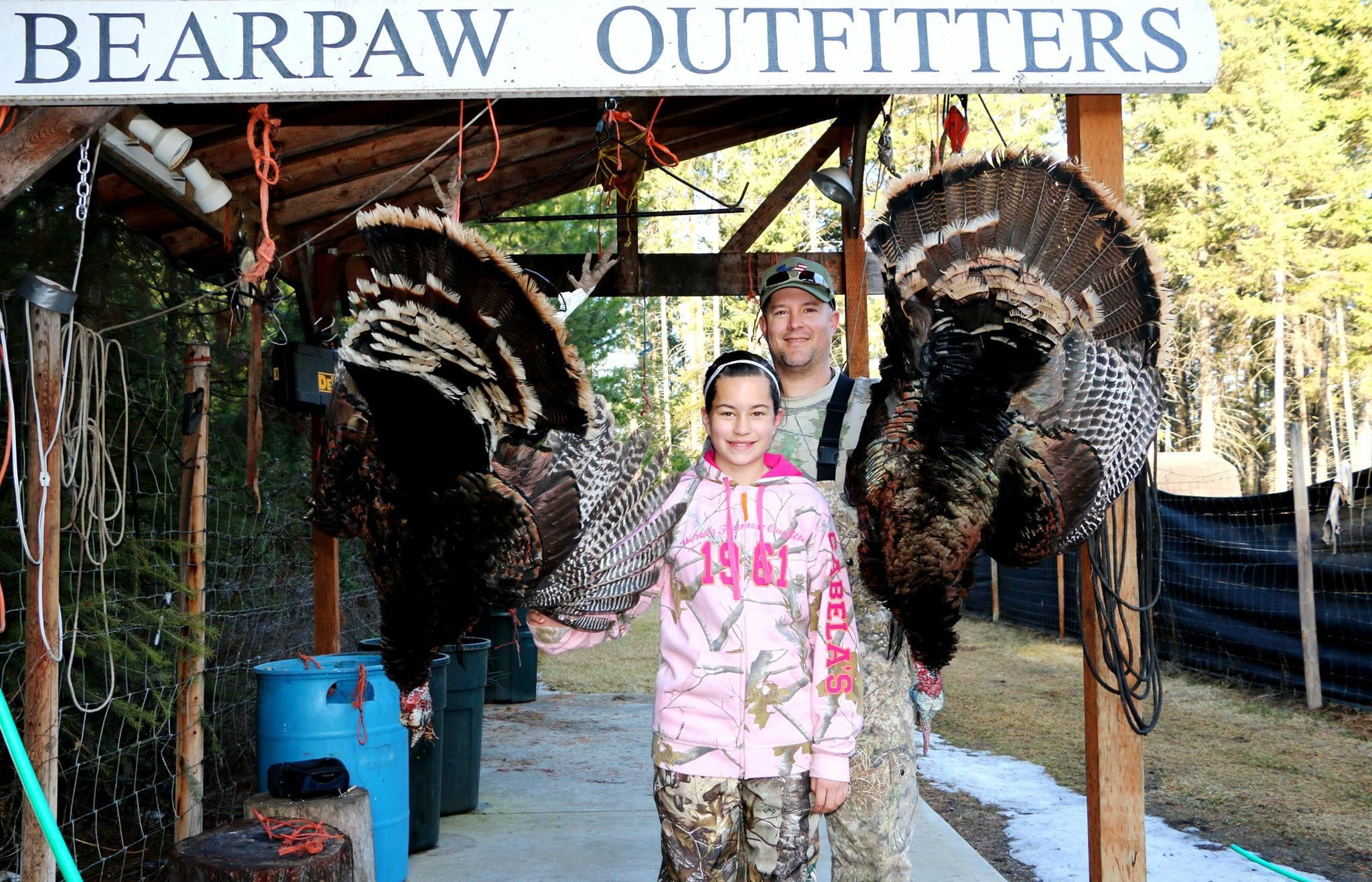 Bearpaw Outfitters: Washington Turkey Hunting