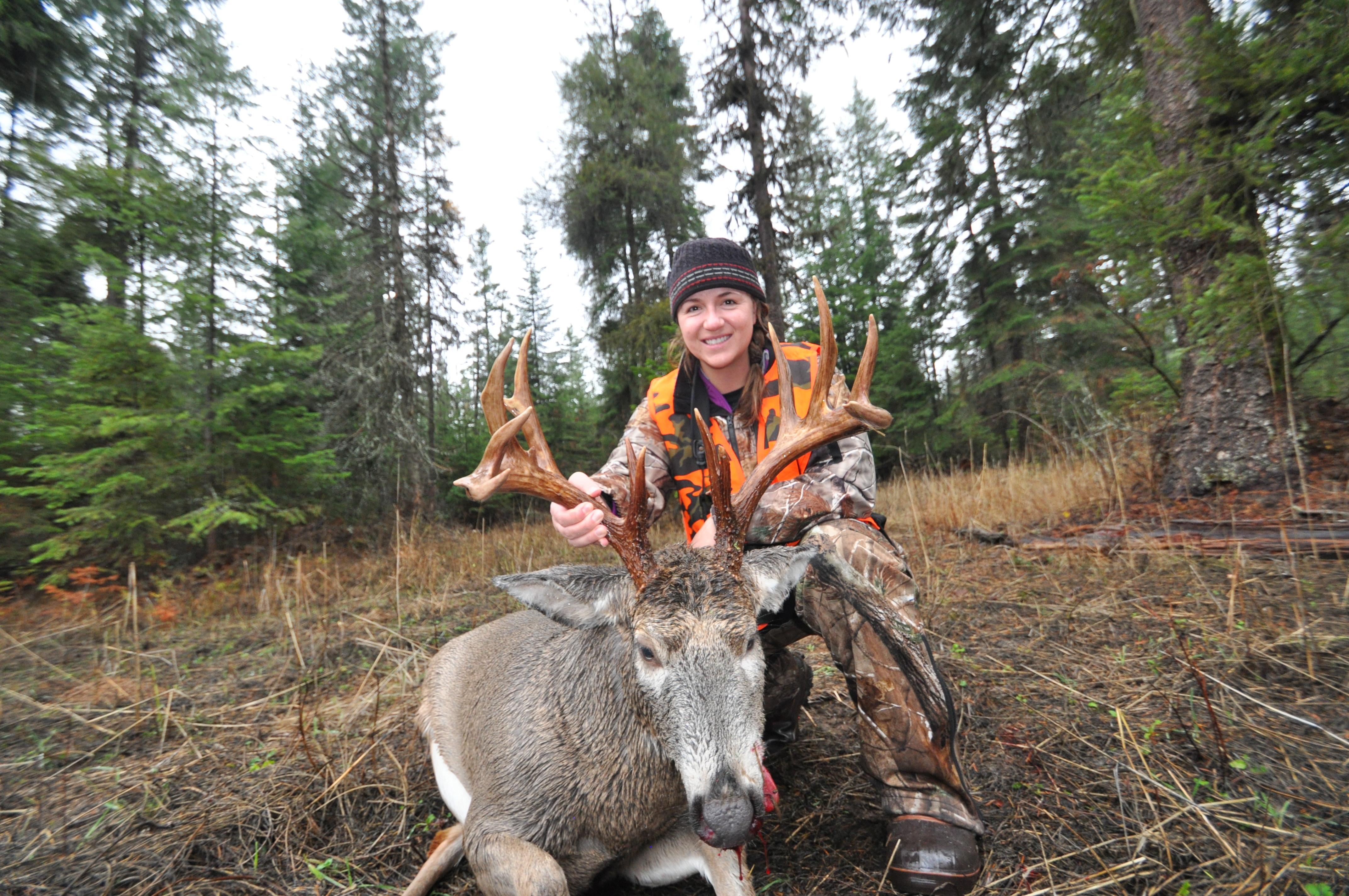 Ridgeback Outfitters : Whitetail Deer hunt