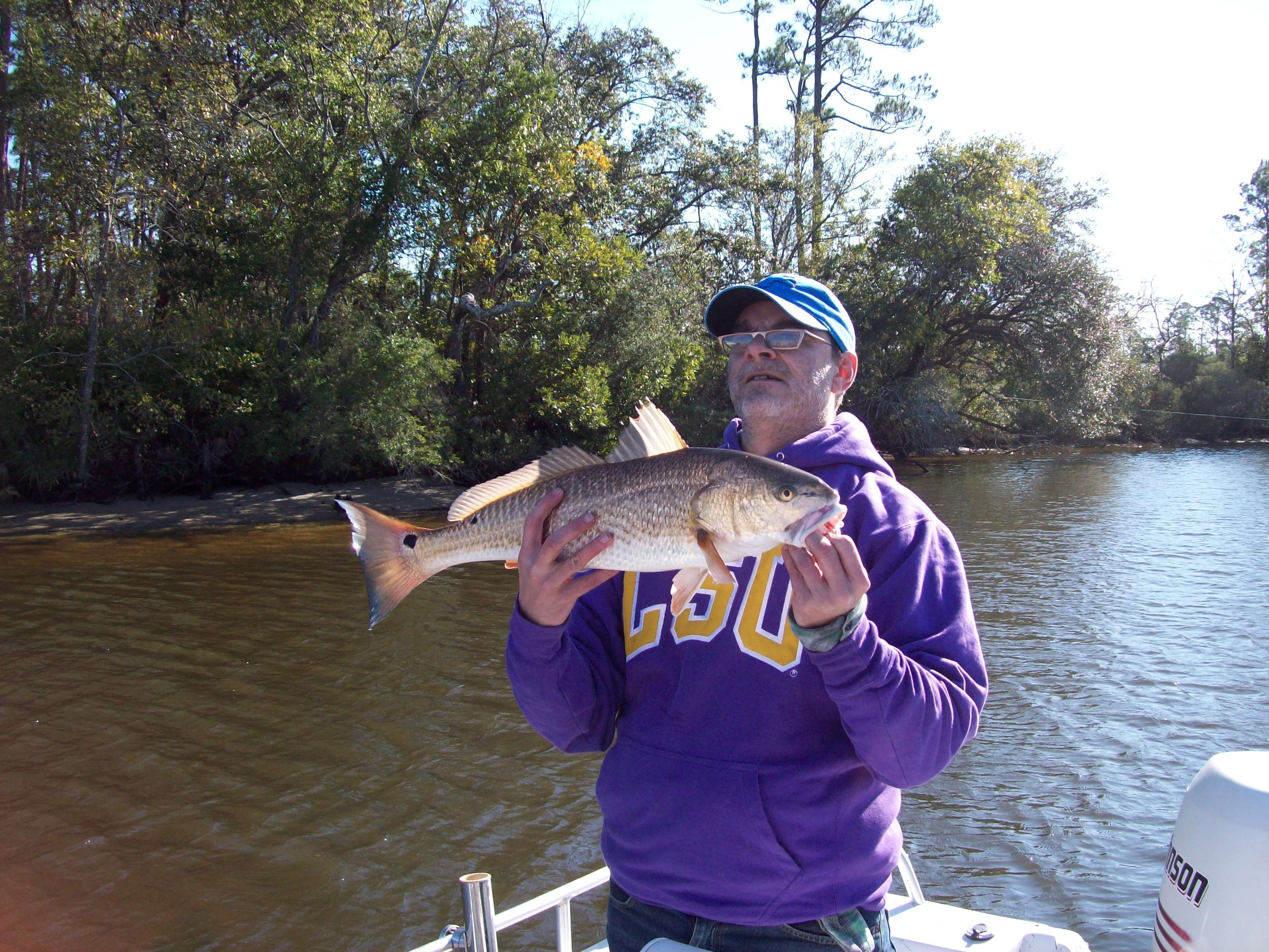 Captain Ron's Charters Mississippi: Light Tackle inshore
