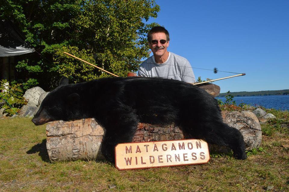 Matagamon Wilderness Camps: Fall Black Bear Hunt