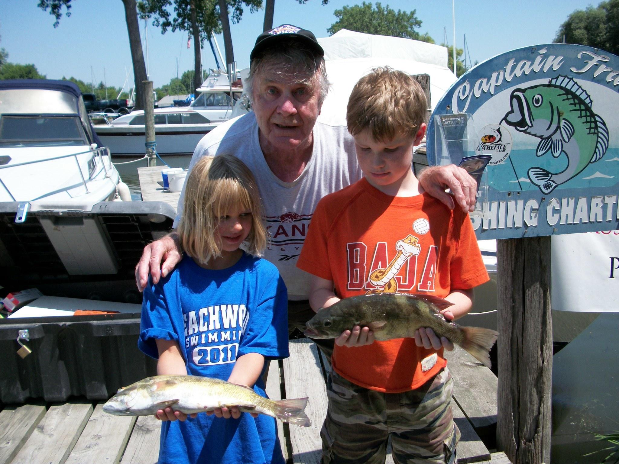 Captain Franks Fishing Charters: Lake Fishing Trip
