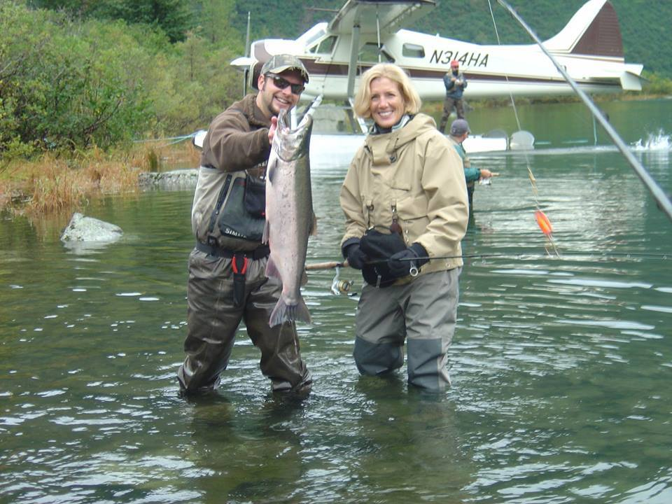 High Adventure Air Charter Guides & Outfitters: King Salmon Fishing